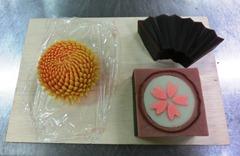 講習で作った和菓子