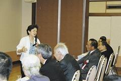 嘉田滋賀県知事が講演