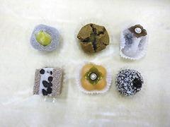 季節の生菓子を講習