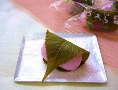 道明寺製桜餅