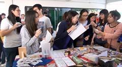 タイ・チェンマイ大学で日本のお菓子の文化交流会