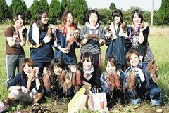 富山高専射水キャンパスの学生
