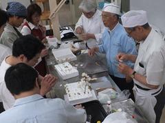 工芸菓子技術講習会
