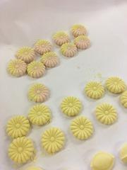 和三盆の干菓子を製作