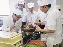 和菓子の授業