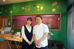 山田泰史さんと奥様