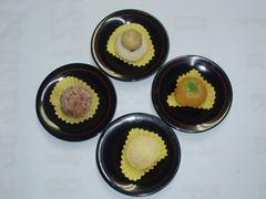 秋の和菓子4品