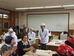 紫竹小学校の菓子教室
