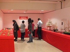 和風工芸菓子の展示
