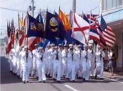 アメリカンデーのパレード