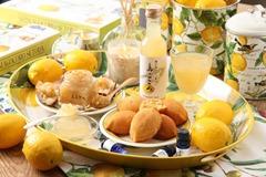 自社で作り出したレモン原料の製品