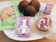 梅月堂の菓子