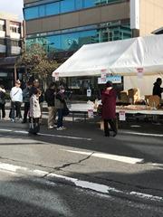 大垣菓子業同盟会青年部のテント