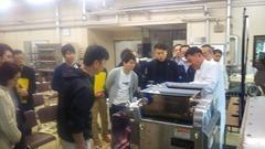 富山県食品研究所で和洋菓子実演会①