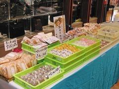 参加組合員18店舗のお菓子