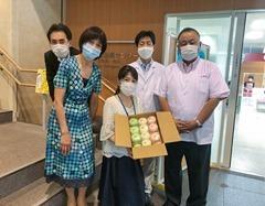 氷室饅頭を医療機関へ寄贈(2020年6月26日)