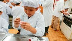上生菓子作り