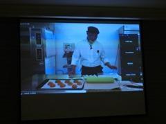画面で見る製菓講習会